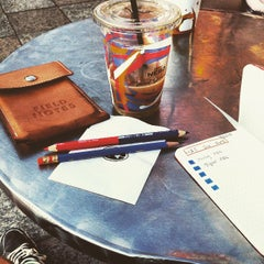 Photo taken at Caffè Nero by Tj C. on 4/9/2015