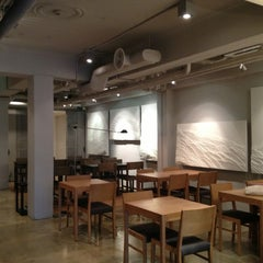 Photo taken at 오설록 (OSULLOC Tea House) by Eunju P. on 1/24/2013