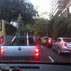 Photo taken at Avenida Epitácio Pessoa by Flavia R. on 10/3/2012