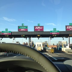 Photo taken at Fort McHenry Tunnel Toll Plaza by NaturalleeMi on 3/5/2013