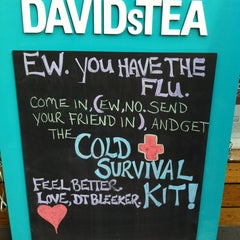 Photo taken at DAVIDsTEA by Jenny on 1/13/2013