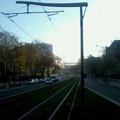 Photo taken at Station Cité Universitaire [T3a] by Artem on 12/3/2013