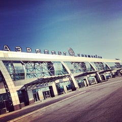 Photo taken at Международный аэропорт Толмачёво / Tolmachevo International Airport (OVB) by Alexey S. on 3/22/2013