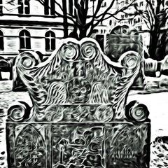 Photo taken at King's Chapel Burying Ground by Jeff P. on 3/1/2013