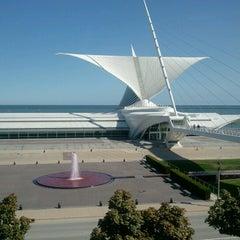 Photo taken at Milwaukee Art Museum by Carmen S. on 9/28/2012