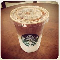 Photo taken at Starbucks (สตาร์บัคส์) by Ki Ki Y. on 3/16/2013