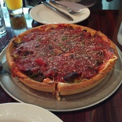 Photo taken at Kylie's Chicago Pizza by Daigo I. on 6/1/2014