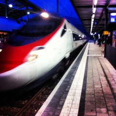 Photo taken at Bahnhof Olten by Christian G. on 9/21/2012
