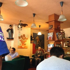 Photo taken at Village Cafe by Ilse R. on 11/24/2012