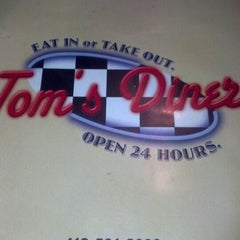 Photo taken at Tom's Diner by Brian M. on 9/22/2012
