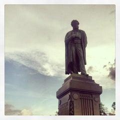 Photo taken at Памятник А. С. Пушкину by Elliott E. on 5/16/2013