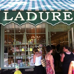 Photo taken at Ladurée by Lewis on 8/5/2013