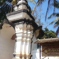 Photo taken at Wat Visuonnaradh by traveller on 2/5/2014