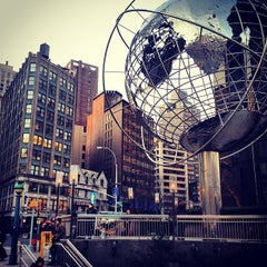 Photo taken at Columbus Circle by Rodrigo N. on 2/27/2013