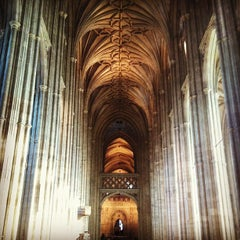 Photo taken at Canterbury Cathedral by Daria Y. on 11/2/2012