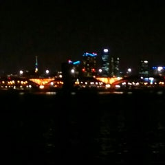 Photo taken at 안양천 합수부 by Sotishana on 7/9/2015