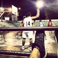 Photo taken at Gelora senapelan basket by Byugie R. on 10/14/2012