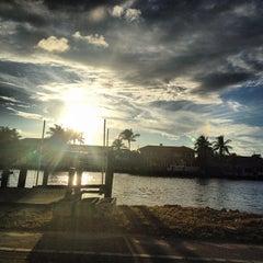 Photo taken at Intracoastal Waterway by Ruben B. on 10/5/2013