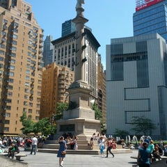 Photo taken at Columbus Circle by Benjy G. on 5/27/2013