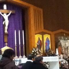 Photo taken at St. Mary Catholic Church by Jessica V. on 12/12/2013
