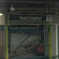 Photo taken at East Croydon Railway Station (ECR) by David I. on 4/27/2014