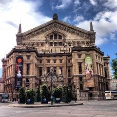 Photo taken at Opéra Garnier by Shiladitya M. on 6/23/2013