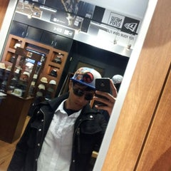 Photo taken at New Era Flagship Store: Buffalo by puneet p. on 9/25/2012