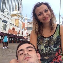 Photo taken at Atlantic City, NJ by Alkan Y. on 8/23/2015