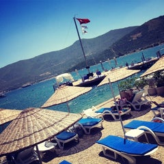 Photo taken at Torba Plajı by Hakan G. on 6/22/2013
