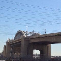 Photo taken at Sixth Street Bridge by Alfonso L. on 9/24/2013