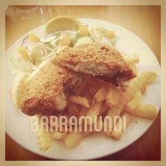 Photo taken at fish bar by KING M. on 11/20/2012