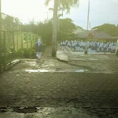Photo taken at SMAN 5 Bengkulu by Reisha N. on 2/22/2013