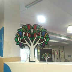 Photo taken at Biblioteca Municipal Emília Xargay by Roger C. on 11/16/2012