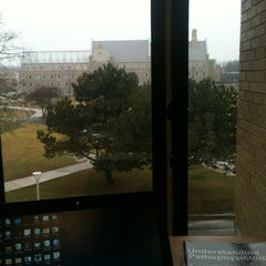 Photo taken at William S. Carlson Library - UToledo by Zach R. on 1/28/2013