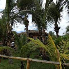 Photo taken at Playa Vichayito by Lourdes B. on 3/3/2013