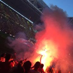 Photo taken at Türk Telekom Arena by Aydın on 6/1/2015