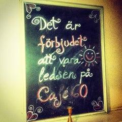 Photo taken at Café 60 by Calle 4⃣0⃣4⃣ L. on 11/25/2012