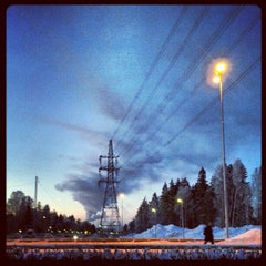 Photo taken at Helenelund (J) by Carl L. on 1/23/2013