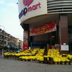 Photo taken at Co.opmart Rạch Miễu by Tuan Anh H. on 1/28/2014