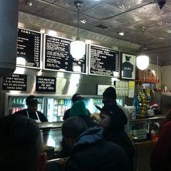 Photo taken at Jim's Steaks by Jason E. on 12/16/2012