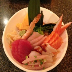Photo taken at Miyabi by Anna F. on 12/28/2012