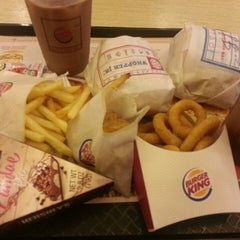 Photo taken at BURGER KING by Mary Jane N. on 2/24/2013