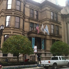 Photo taken at Richard H. Driehaus Museum by Russ D. on 10/1/2012