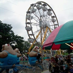 Photo taken at Winfield Fairgrounds by jessica on 8/4/2013