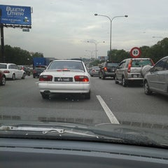 Photo taken at Plaza Tol Batu Tiga by Mohd N. on 1/19/2013