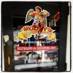 Photo taken at Woody's at City Market by TriangleDowntownerMagazine on 3/6/2014