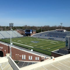 Photo taken at Foreman Field at S.B. Ballard Stadium by Mark H. on 3/15/2013