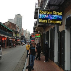 Photo taken at Bourbon Street Blues Company by JIM S. on 4/4/2013