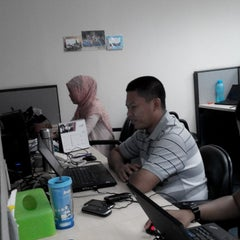 Photo taken at PT. Huawei Tech Investment by Hari J. on 5/8/2014