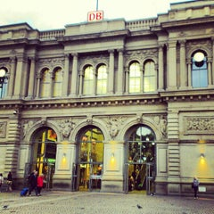 Photo taken at Mainz Hauptbahnhof by Antonino T. on 10/17/2012